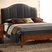 Auckland Queen Platform Bed - Upholstered Headboard - NSI-517005BQ