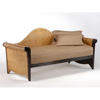 Rosebud Rattan Daybed