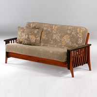 Aurora Futon Frame - Cherry/Chocolate