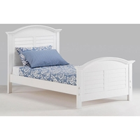Sandpiper Platform Bed in White