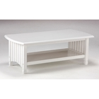 Keywest White Coffee Table