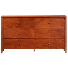 Zest Six Drawer Dresser