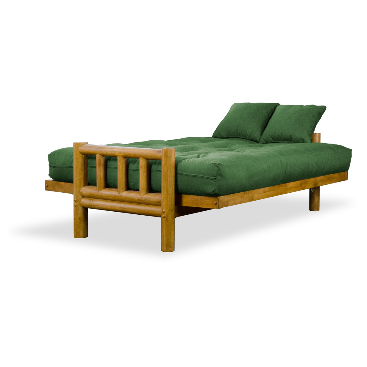 Tahoe Log Futon Frame - Hertitage Finish - NF-TLOG