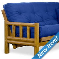 Tahoe Log Futon Frame - Hertitage Finish