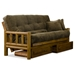 Tahoe Log Futon Set - Heritage, Designer Mattress Made in USA - NF-TLOG-DSNR-SET#