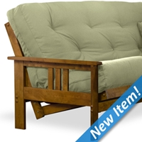 Orlando Wood Futon Frame - Hertitage Finish