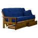 Orlando Wood Futon Frame - Hertitage Finish - NF-OLND-MB