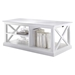 Halifax Rectangular Coffee Table - Pure White - NSOLO-T756
