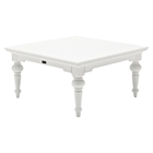 Provence Square Coffee Table - Pure White