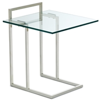 Enna Glass End Table