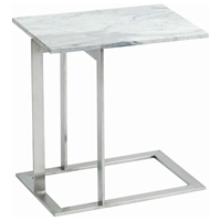 Dell Marble Top End Table