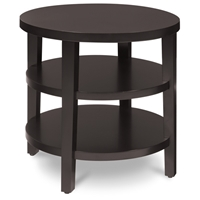 Avenue Six Merge 20%27%27 Round End Table