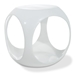 Avenue Six Slick Cube White Occasional Table - OSP-SLK311