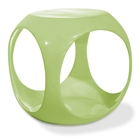Avenue Six Slick Cube Green Occasional Table