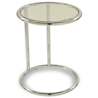 Yield Glass Circle Table
