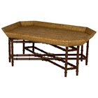 Urban Octagonal Coffee Table - Rattan Weave