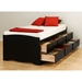 Blackbeard Twin Captain's Platform Storage Bed - PRE-XBT-4106-K