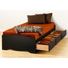Drake Twin XL Mate's Platform Storage Bed
