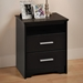 Coal Harbor Tall Nightstand with 2 Drawers - PRE-XCH-2250