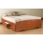 Drake Full Mate's Platform Storage Bed with 6 Drawers