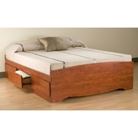 Drake Full Mate%27s Platform Storage Bed with 6 Drawers