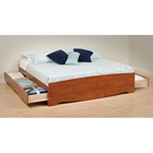 Drake King Mate's Platform Storage Bed with 6 Drawers