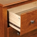 Monterey Tall Nightstand with Open Shelf - PRE-XDC-2428-MONTEREY