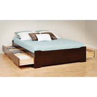 Coal Harbor Full Mate%27s Platform Storage Bed