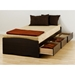 Drake Twin XL Mate's Platform Storage Bed - PRE-XBX-4105-K