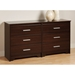 Coal Harbor 6-Drawer Dresser - PRE-XCH-6600-K