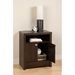 Series 9 Designer 2-Door Tall Nightstand - Espresso - PRE-EDNH-0502-1