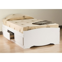Drake Twin Mates Platform Storage Bed with 3 Drawers