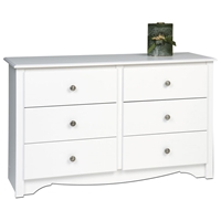 Monterey White Children%27s 6-Drawer Dresser