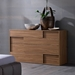 Square Walnut Dresser - ROS-T411000000001