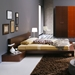 Win Wenge Platform Bed with Light - ROS-T2666BBAXX206