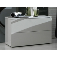 Fun White Nightstand