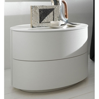 Coco Moon White Nightstand