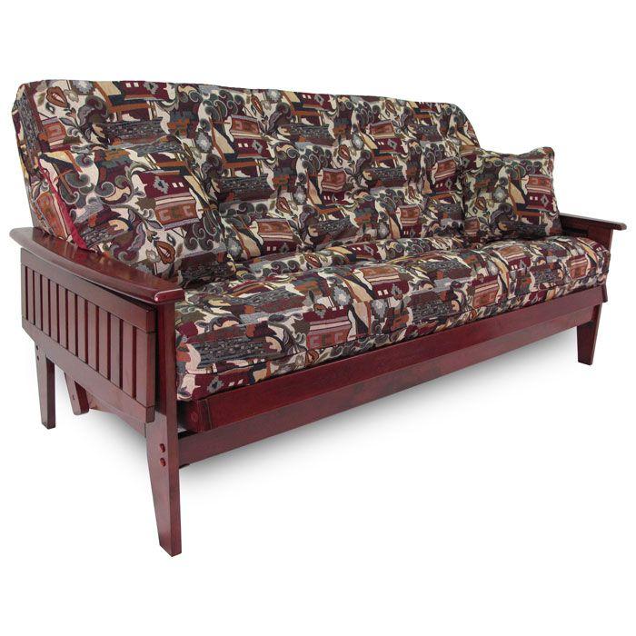 boston tray arm futon frame wood futon frames   all wood futons at futon creations  rh   futoncreations