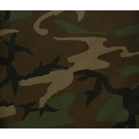 Camo 5 Piece Full Size Futon Cover Pillow Pack