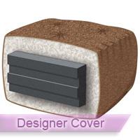 gold 8 chair futon mattress with designer cover 8 inch thick futon bed mattresses   futon creations  rh   futoncreations