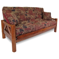 Ponderosa Wood Futon Frame - Medium Balboa