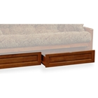 Wood Futon Storage Drawers