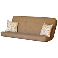Whirlwind Full Size Futon Mattress with Pillows