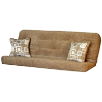 Woodstock Full Size Futon Mattress with Pillows