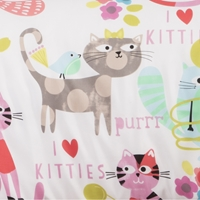 Purrty Cat Futon Cover