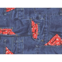 Blue Jeans Futon Cover