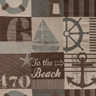 To The Beach Futon Cover