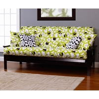 Full Circle Green Futon Cover