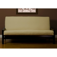 Bisque Linen Futon Cover