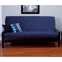 Posh Deep Blue Futon Cover